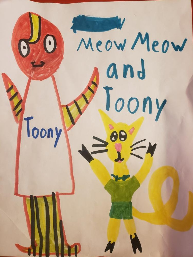 Letter from Virginia (my granddaughter) -   I love Toony and watch it every single morning. I also love cat cartoons, especially Tom and Jerry and Pink Panther. They are a classic! Can you do a day of just cat cartoons? Thank you very much! - Ginny